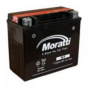 Moratti 6CT-20A (YTX20-BS)