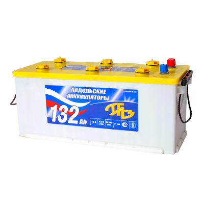 Подольские аккумуляторы 6CT-132