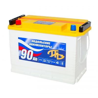 Подольские аккумуляторы 6CT-90