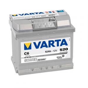 VARTA 6CT-52 Silver C6
