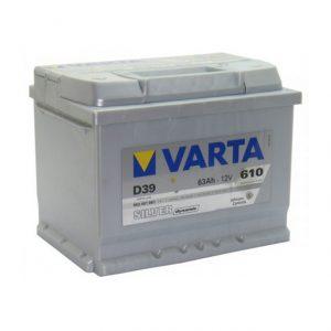 VARTA 6CT-63 Silver D39